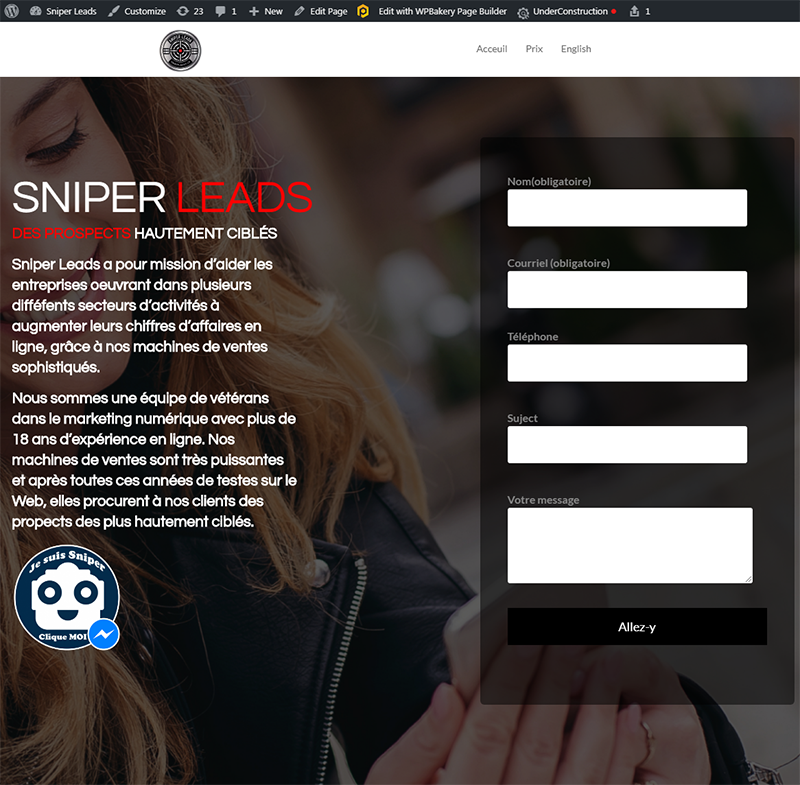 Web Pros SniperLeads22 Digital Marketing Agency