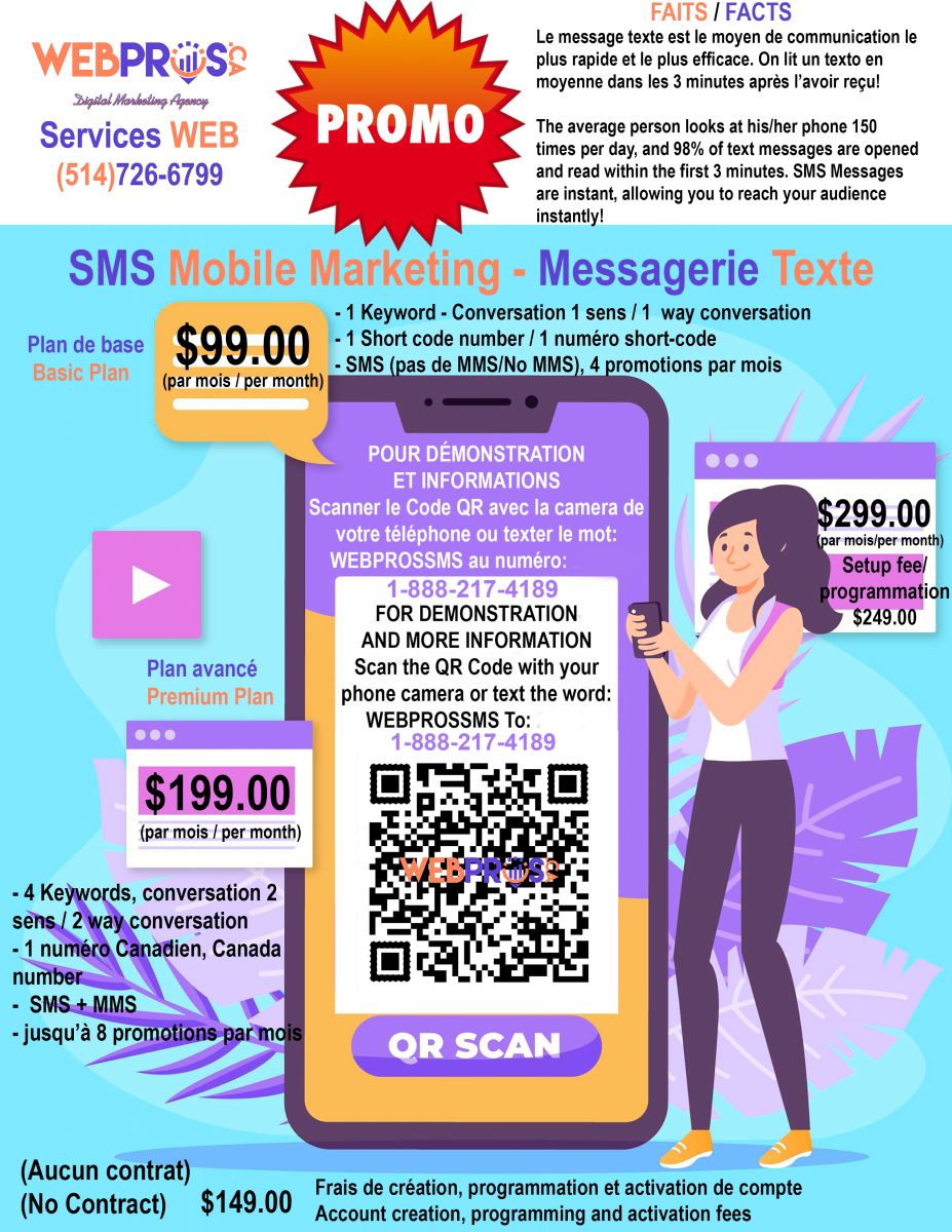 Web Pros SMS-PROMO-FLYER-24THNOV SMS Mobile Marketing